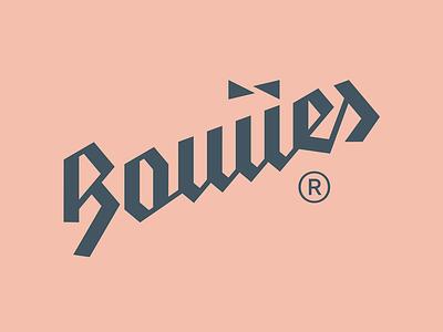 Bowies logotype vector icon logo branding