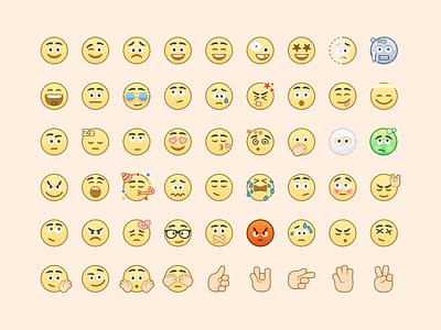 Voca Emoji Set illustrator emoji illustration