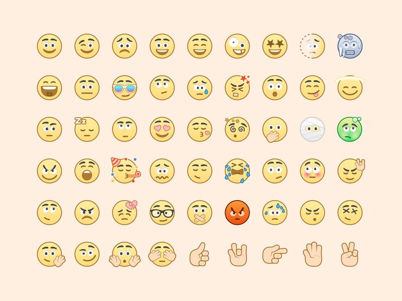 Voca Emoji Set