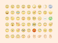 Voca Emoji Set illustrator emoji illustration