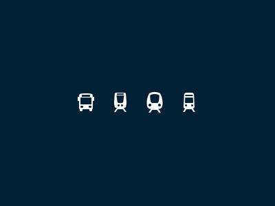 Stockholm Transportation Pictograms