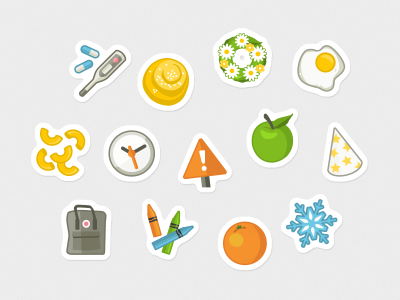 Playful Illustrations illustration vector icons