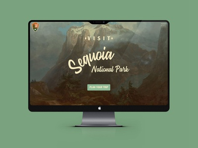 Daily UI #3 - Landing Page for Sequoia National Park