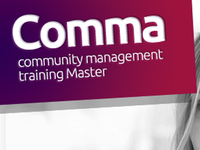 New logo for Comma (CM training master)