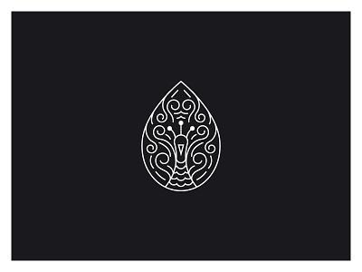 Vamsa Peacock symmetry vector illustration art print peacock pendant vamsa vector design brand identity logo graphic design kerala kochi art illustration shylesh