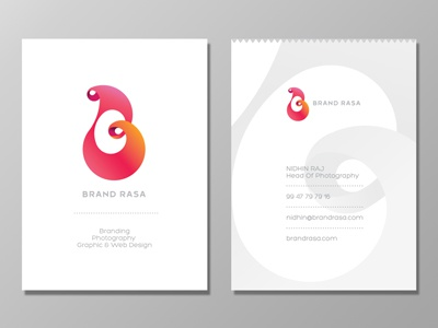 BRAND RASA BUSINESS CARD  india shylesh bangalore drop rasa business card essence card visiting card