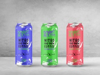 Nitro Cold Brew Can Design