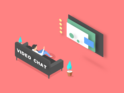 Videochat 2.5d videochat chat video