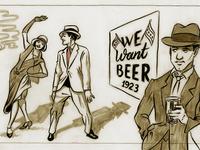 Prohibition Mural