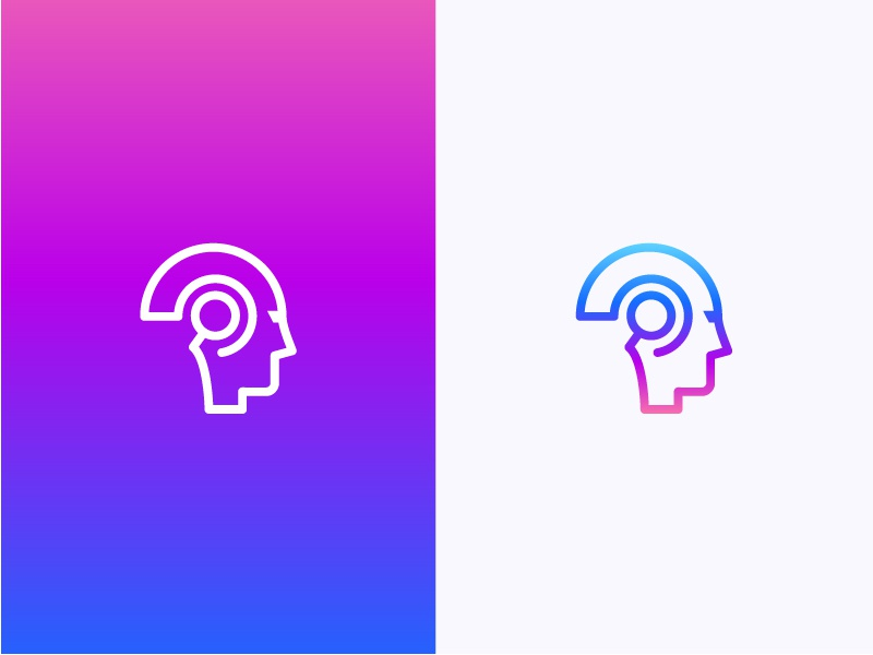 Robot&Search thinking smart web ios logo icon search robot