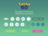 Pokemon Go Free UI Kit