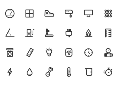 icons for an upcoming app