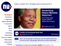 Responsive news website NU.nl