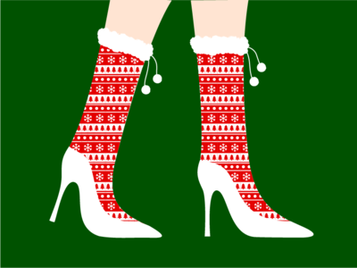 Day 1: It's gonna be a high, high heeled Christmas