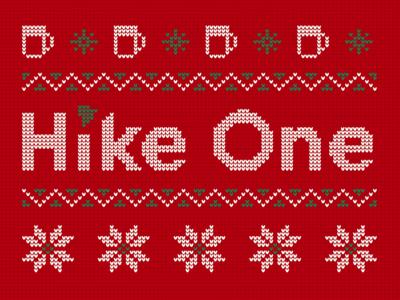 Hike One Christmas Sweater
