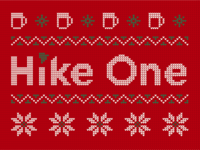 Hike One Christmas Sweater