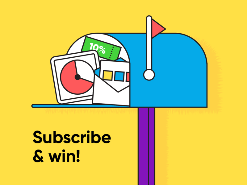 Subscribe to Hike One Newsletter and win!