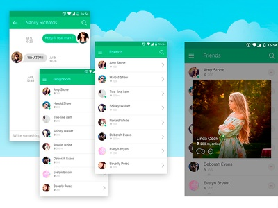 Vesino app for iOS and Android neighborhood neighbours network communication social app social behance ux design ui design ios development ios ios app