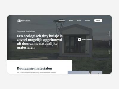 EcoCabins (Free Figma)