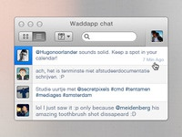 Chat popup
