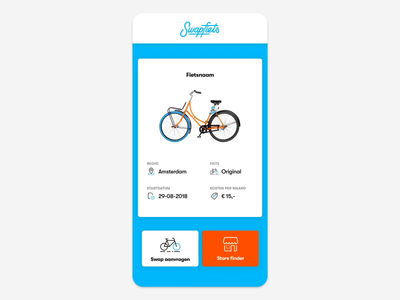 Swapfiets dashboard app android ui motion effects after ios x xs iphone gif swapfiets