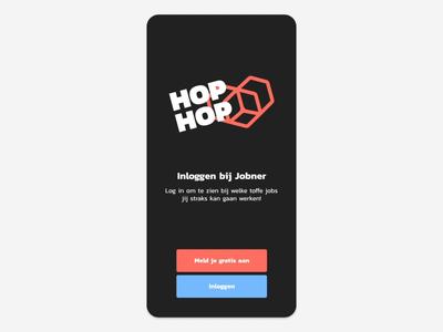Jobner app transitions