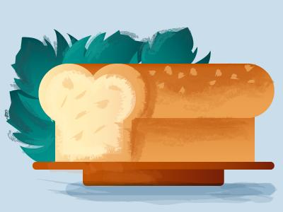 French brioche breakfast minimalism food bread french
