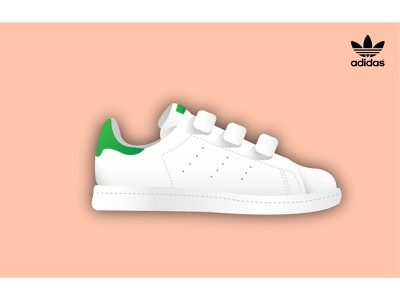 Adidas // Stan Smith green white originals baskets stan smith adidas