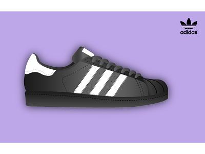 Adidas // Superstar originals baskets white black superstar adidas