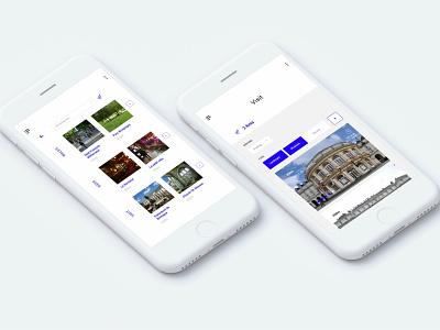 City guide Rennes #IconContestXD rennes webdesign app city ux ui xd icon adobe contest