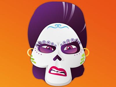 Emoji Mamma Imelda - Coco calaveras mejico face cartoon colors emoji animation disney movie coco