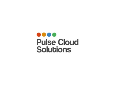 Technology logo for Pulse Cloud Solutions brand identity brand colors graphic  design contest cloud design logotype logo tech logo technology