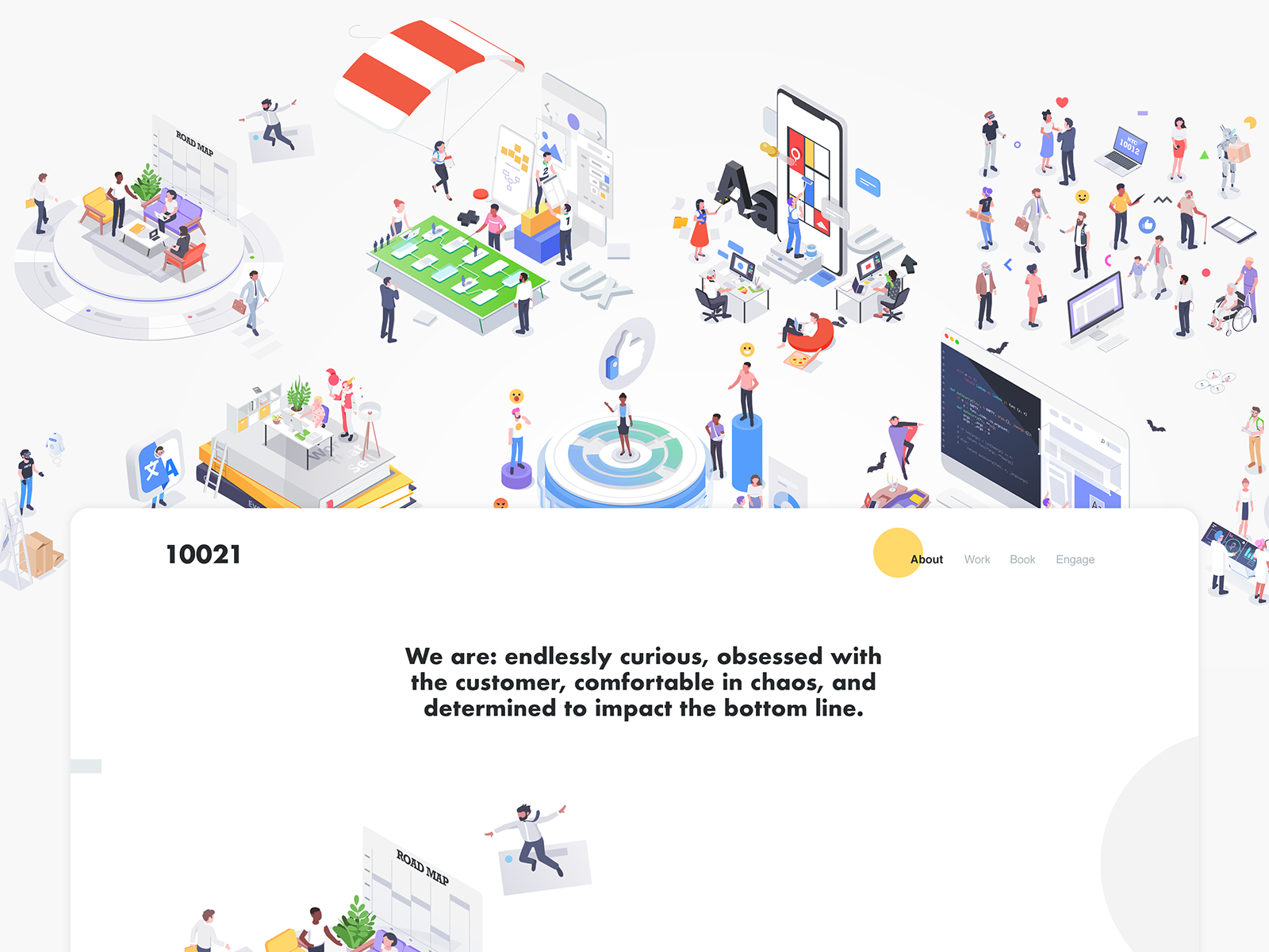 10012 office web design affinity characters illustration isometric rboy rocketboy