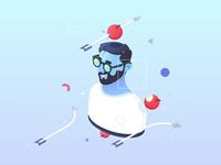 Mobile Onboarding Tips - Blogspot Illustration