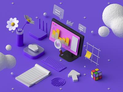 10Clouds: 3D Services #2
