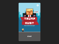 Trump Hunt iOS Mockup