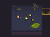 Free Assets: Zombie Game - World