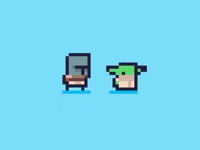 Mandalorian - Daily Pixel Character
