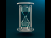 Time Sands Motion Graphic