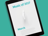 Music of 2017, side 3/12
