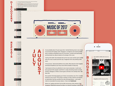 Music of 2017, side 7-8/12