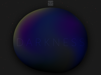 Darkness Playlist Cover shadow museo playlist spotify cover gradient blob darkness