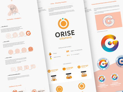 My new portfolio site conceptual ux ui icon guidelines visual-language logo case-study identity branding designer portfolio