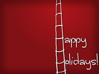 Holidays dribbble