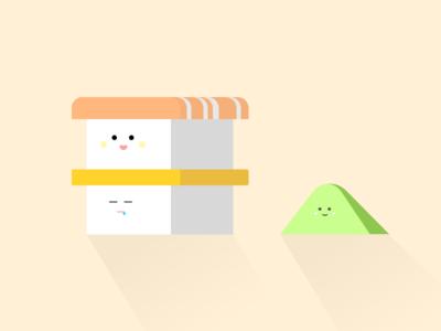Sushi Box Part 3 - Wasabi and Nigiri