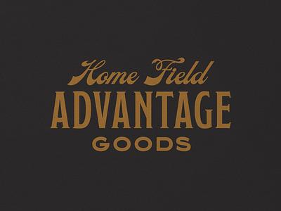 HFA Goods 002 wordmark heritage vintage branding mark logo typography design