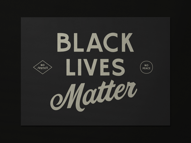 Most Known Unknown BLM Postcard Fundraiser fundraiser philadelphia postcard design
