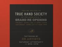 True Hand Grand Re-Opening