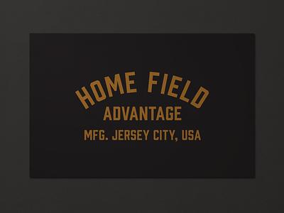 HFA Goods Pt. 2 nj branding logo print vintage lockup type mark typography design