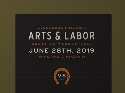 Arts & Labor typography poster eventposter event flyer announcement design